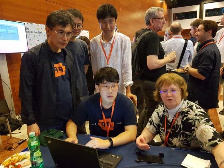 국제인터넷표준화기구 IETF Hackathon 수상