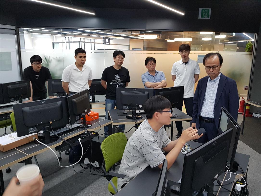 IoT 역량강화 교육 사진